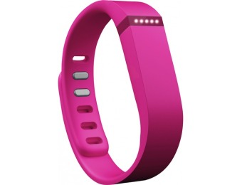 50% off Fitbit Flex Wireless Activity and Sleep Wristband - Pink