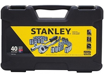 41% off Stanley STMT71648 40-Pc Socket Set