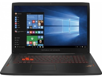 "$400 off Asus 17.3"" Laptop - Core i7, 12GB, 1TB, SSD, GeForce GTX 1060"