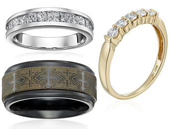 Up to 50% off Wedding Bands & Diamond Rings