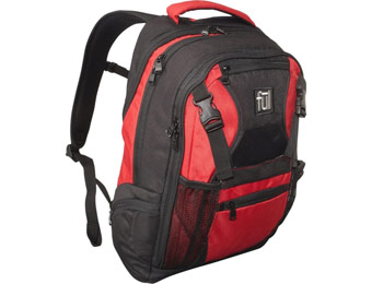 $30 off Ful Red Laptop Backpack, Limited Quantities Available