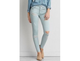 $35 off AE Twill X Hi-Rise Jegging for Women