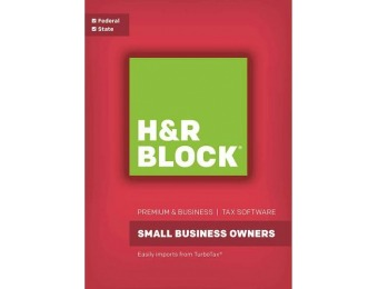 $50 off H&R Block Small Business Owners Federal and State