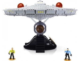 68% off Mega Bloks Star Trek U.S.S. ENTERPRISE NCC-1701