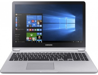 "$250 off Samsung 2-in-1 15.6"" Touch-Screen Laptop - i7, 12GB, 1TB"