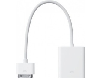 86% off Apple 30-pin to VGA Adapter