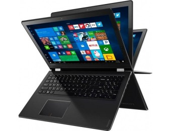 "$200 off Lenovo 2-in-1 15.6"" Touch-Screen Laptop"