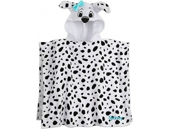 48% off 101 Dalmatians Hooded Towel for Kids
