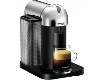 55% off Nespresso VertuoLine Espresso Maker & Coffeemaker - Chrome