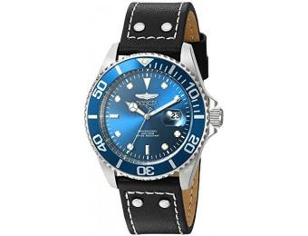 $363 off Invicta Men's Pro Diver Leather Watch