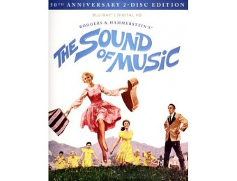 50% off The Sound of Music [50th Anniversary 2-Disc Edition] Blu-ray