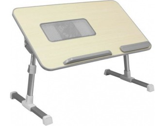 50% off Aluratek Ergonomic Laptop Cooling Table with Fan