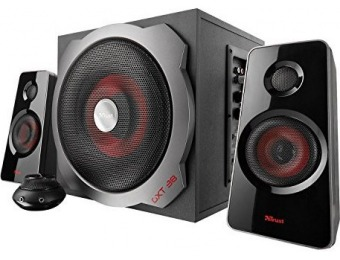 $40 off Trust Gaming GXT 38 120W 2.1 Gaming Speakers w/ Subwoofer