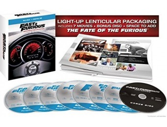 72% off Fast & Furious: The Ultimate Ride Collection (Blu-ray) 1-7