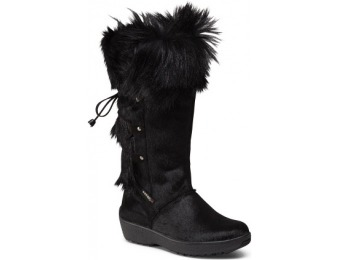 64% off Made In Italy Lace Back Women's Boots