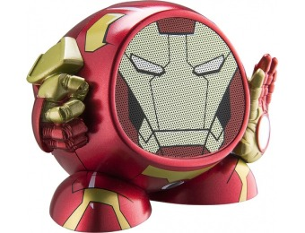 87% off Marvel Iron Man Portable Bluetooth Speaker