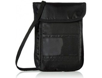83% off AmazonBasics RFID Travel Neck Stash Wallet
