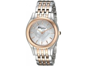 $1,073 off Salvatore Ferragamo Women's Lirica Two-Tone Watch