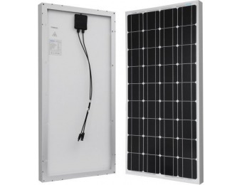 $57 off Renogy 100 Watts 12 Volts Monocrystalline Solar Panel