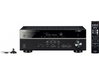 $150 off Yamaha 1015W 7.2-Ch 4K Ultra HD Home Theater Receiver
