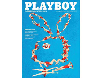 90% off Playboy Magazine Subscription, $6.99 / 12 Issues