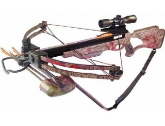 $326 off Inferno Hellfire II Precision Crossbow