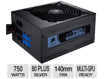 $80 off Corsair HX750W 750-Watt Modular Power Supply