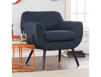 40% off Holly & Martin Supra Navy Polyester Accent Chair UP9651