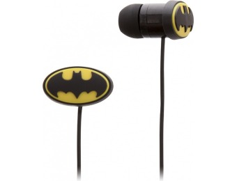 53% off DC Comics BATMAN In-Ear Headphones