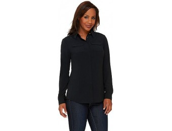 86% off Liz Claiborne New York Heritage Collection Crepe Blouse
