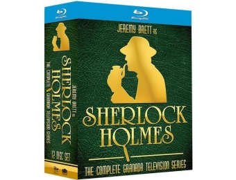$211 off Sherlock Holmes: Complete Series (Blu-ray)