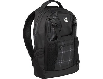 $29 off Ful Plaid Laptop Backpack