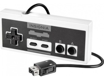 38% off Insignia Wired Controller for NES Classic Edition