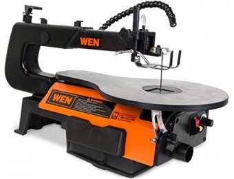 "$85 off WEN 3920 16"" Two-Direction Variable Speed Scroll Saw"