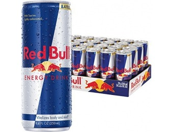 46% off Red Bull Energy Drink, 8.4 Fl Oz Cans, Pack of 24