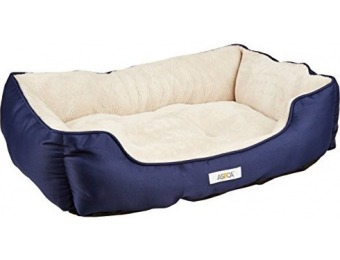 62% off ASPCA Microtech Striped Dog Bed Cuddler