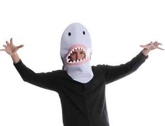 50% off Sharknado Shark Mask - Halloween Costume Hood