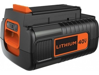 $46 off BLACK+DECKER LBX2040 40V 2.0Ah MAX Lithium Ion Battery