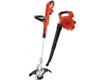 $48 off BLACK+DECKER 20V MAX Trimmer and Sweeper Combo Kit