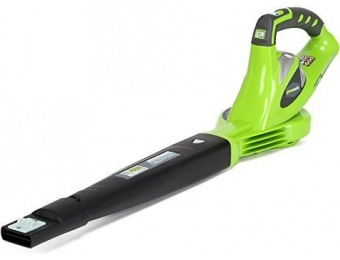 58% off GreenWorks 24282 G-MAX 40V 150 MPH Variable Speed Cordless Blower
