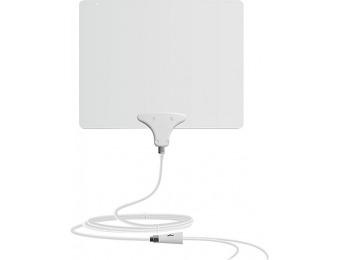 56% off Mohu Leaf 50 Amplified Indoor HDTV Antenna
