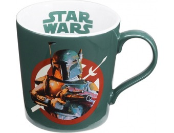 54% off Vandor Star Wars Boba Fett Ceramic Mug 12 Ounce
