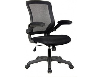 55% off Techni Mobili Mesh Task Office Chair with Flip Up Arms
