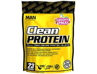 50% off M.A.N. Sports Products Clean Protein Supplement