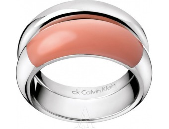 84% off Calvin Klein Jewelry Women's Ellipse Ring