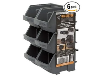 35% off Gladiator GearTrack and GearWall Small Item Bins (6-Pack)