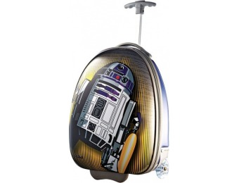 "46% off American Tourister Star Wars R2D2 18"" Wheeled Suitcase"
