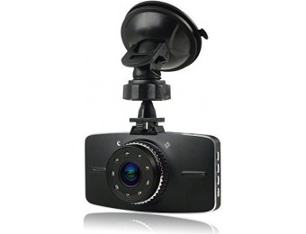 "80% off Novatek 3.0"" 1080p Car Dash Camera DVR"