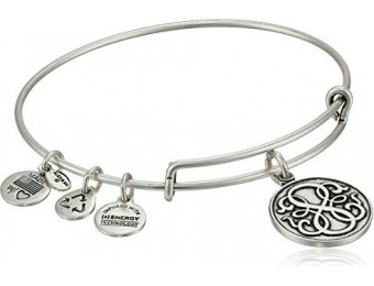 "65% off Alex and Ani ""Path of Life"" Rafaelian Silver-Tone Bracelet"