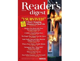 81% off Reader's Digest Magazine - 6 Month Subscription